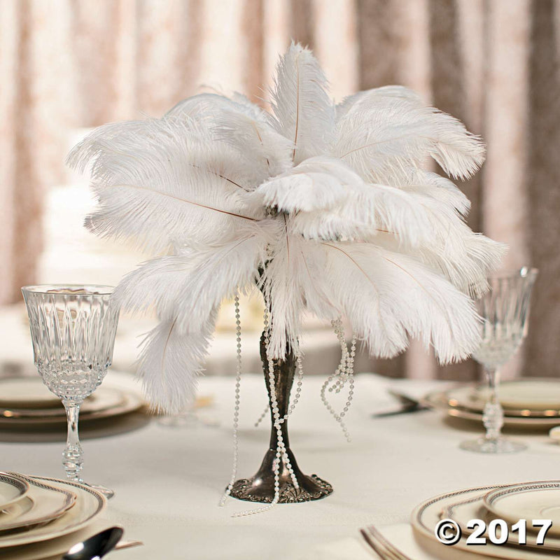 CENTERPIECES Ostrich Feathers (1 lot = 40 plumes) SOLD OUT