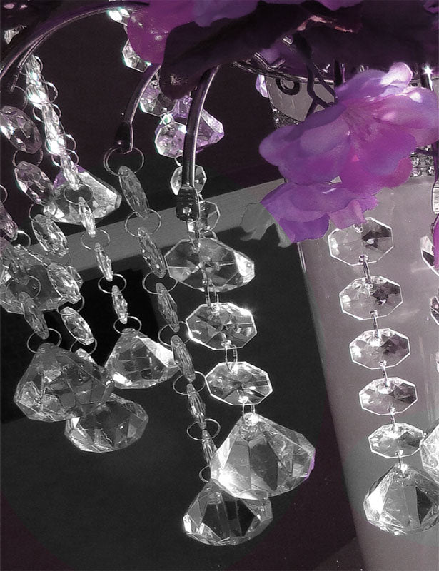 ALLIE Bridal Bouquet Centerpiece DIAMOND DROPS