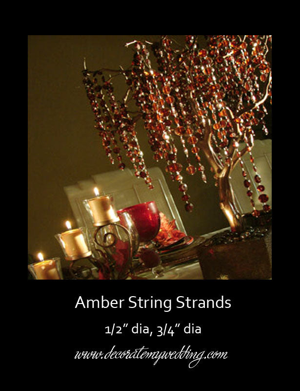 Beads Amber Strands (Bundle of 9) CLEARANCE