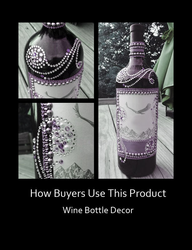 HOW TO USE – Wine Bottle Art
