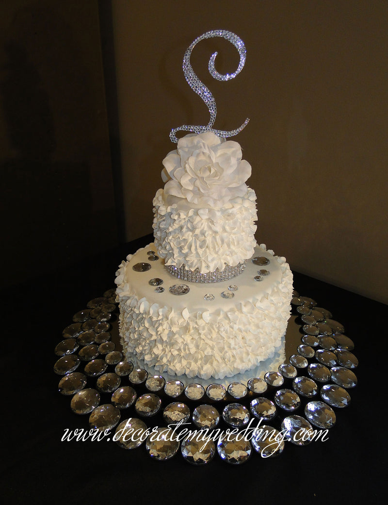 Gorgeous Bling Cake Stand Wow Wow Sold Only Decorate