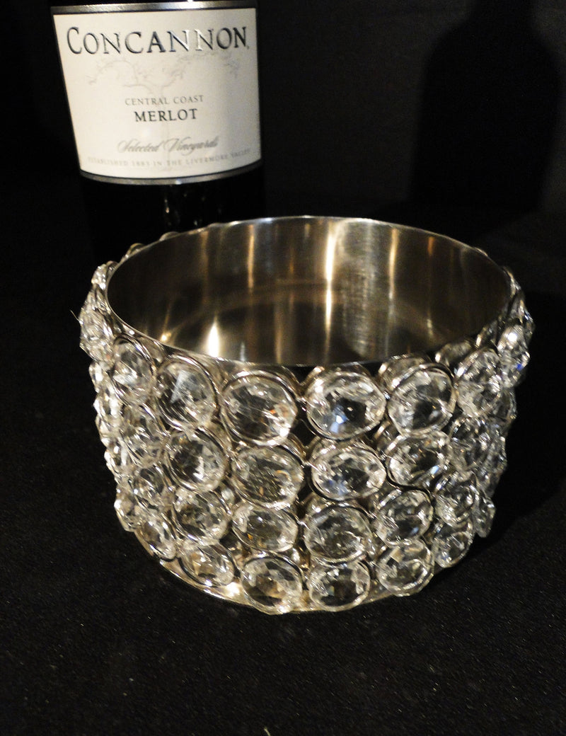 Wine Holder Crystal Beaded SOLD OUT