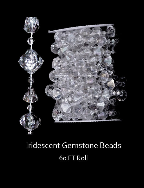 These gemstone beads are perfect for your wedding decorations.