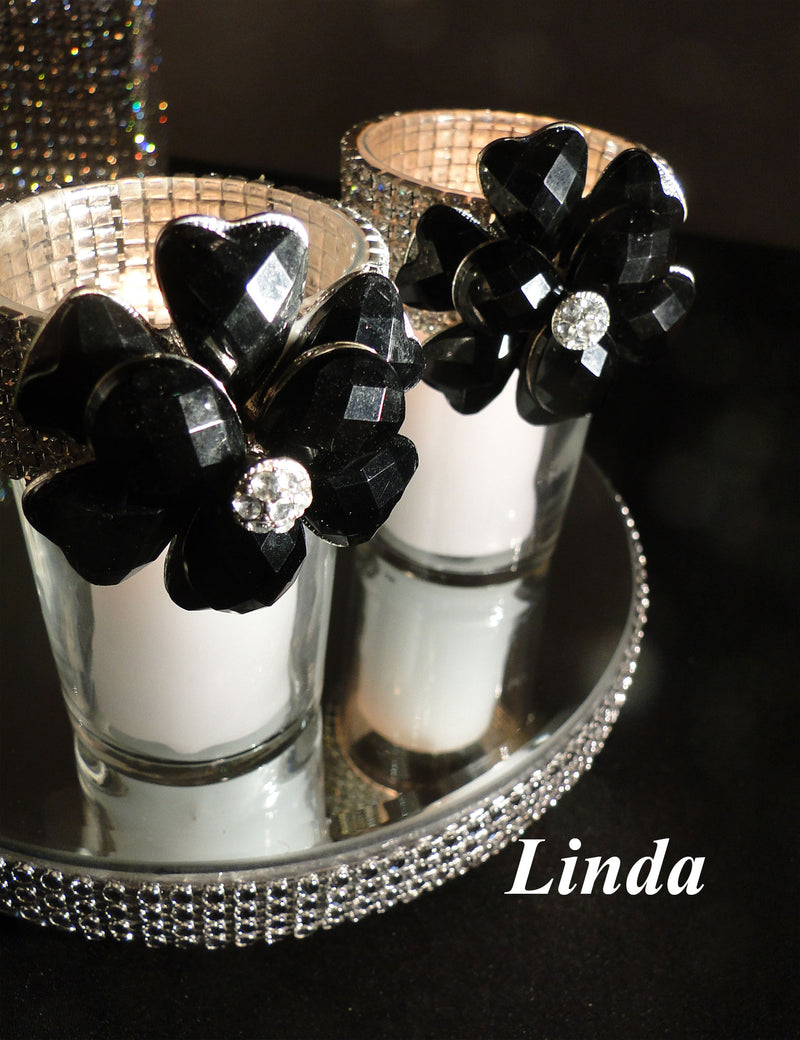 Black Votive Holder