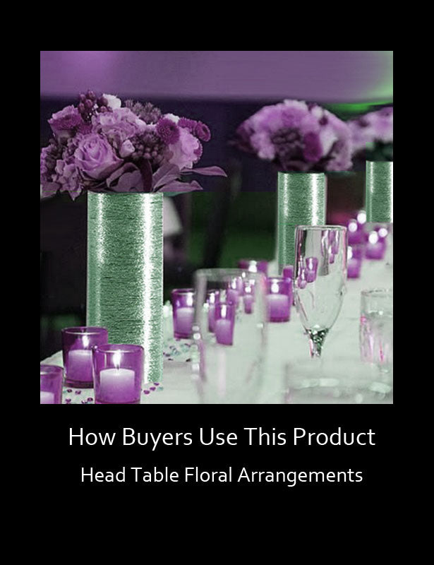 HOW TO USE – Head Table Centerpieces