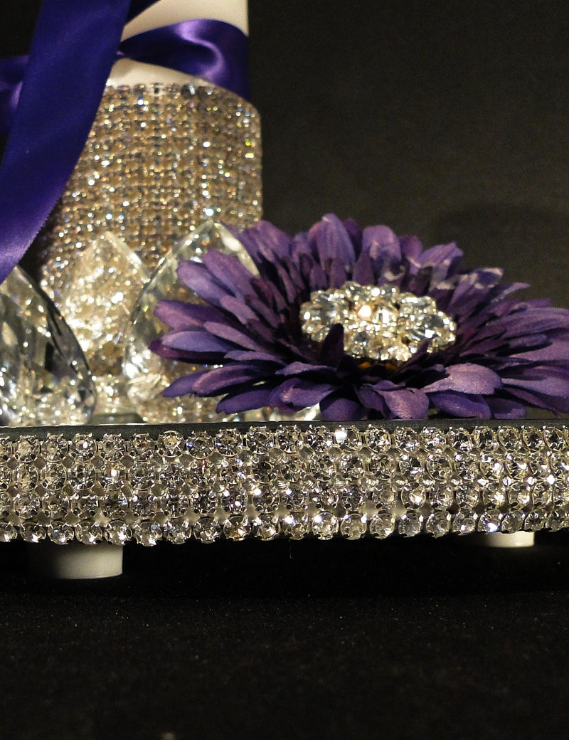 Centerpiece Mirror Elevated LUCY Swarovski Rhinestone SOLD OUT