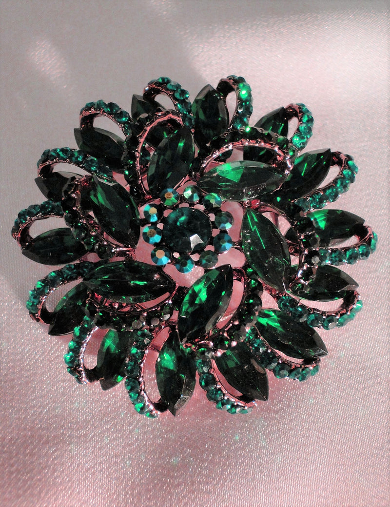 Brooches Green & Blue SOLD OUT