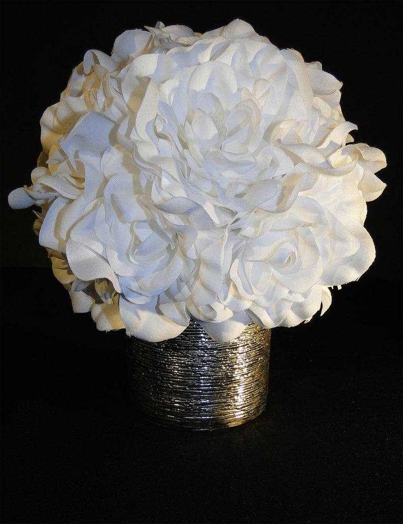 CENTERPIECE Gardenia Floral Accent TRISHA SOLD OUT