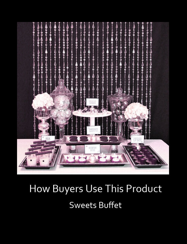 How Buyers Use This Product – Candy Buffet