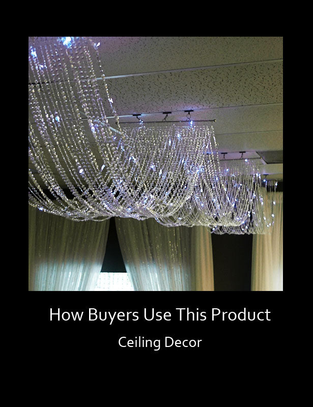 How Buyers Use This Product – Ceiling Décor