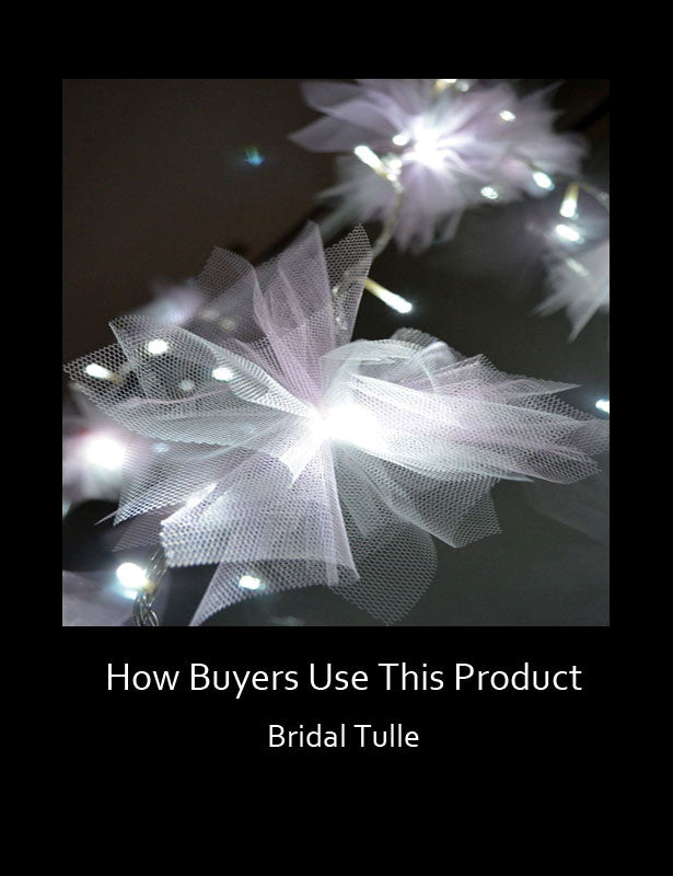 HOW TO USE – Bridal Tulle