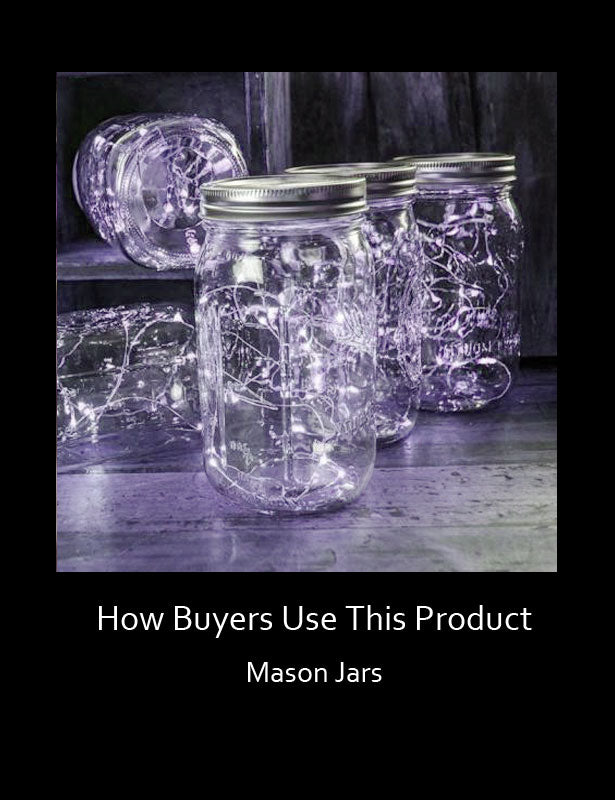 HOW TO USE –Mason Jars