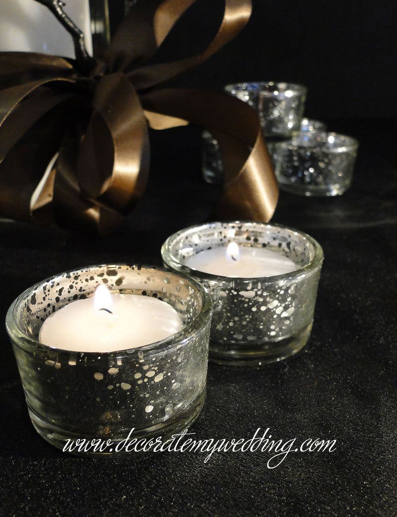 Mini Mercury Tealight Holders