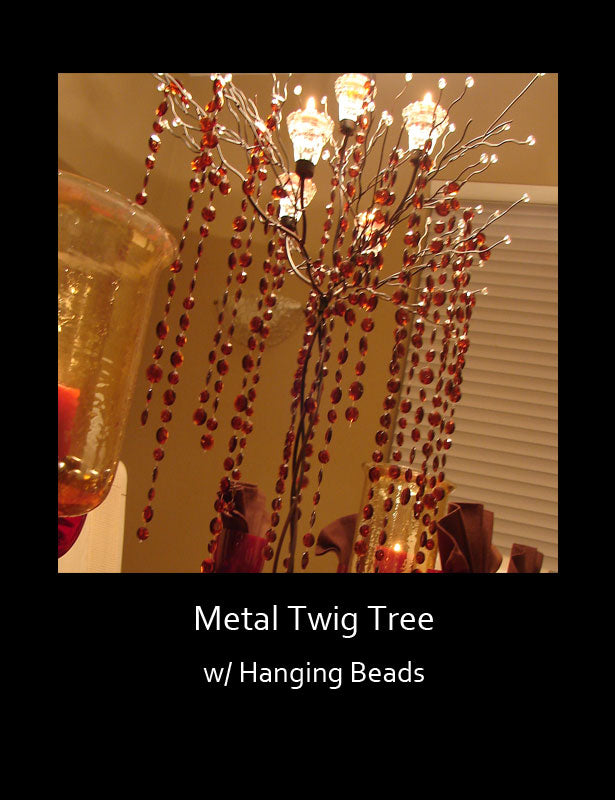 HOW TO USE – Add colored hanging beads.