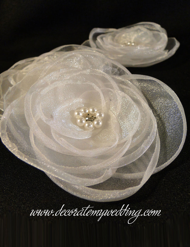 DIY Organza Bloom (sold individually)