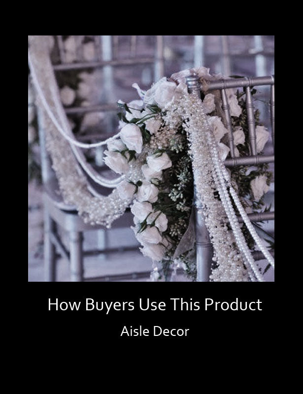 HOW TO USE – Aisle Décor Swag Decoration