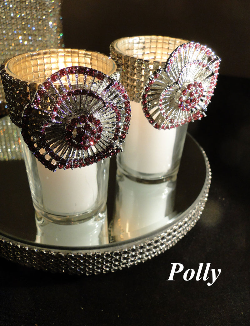 Pink Votive Holders (sold individually)