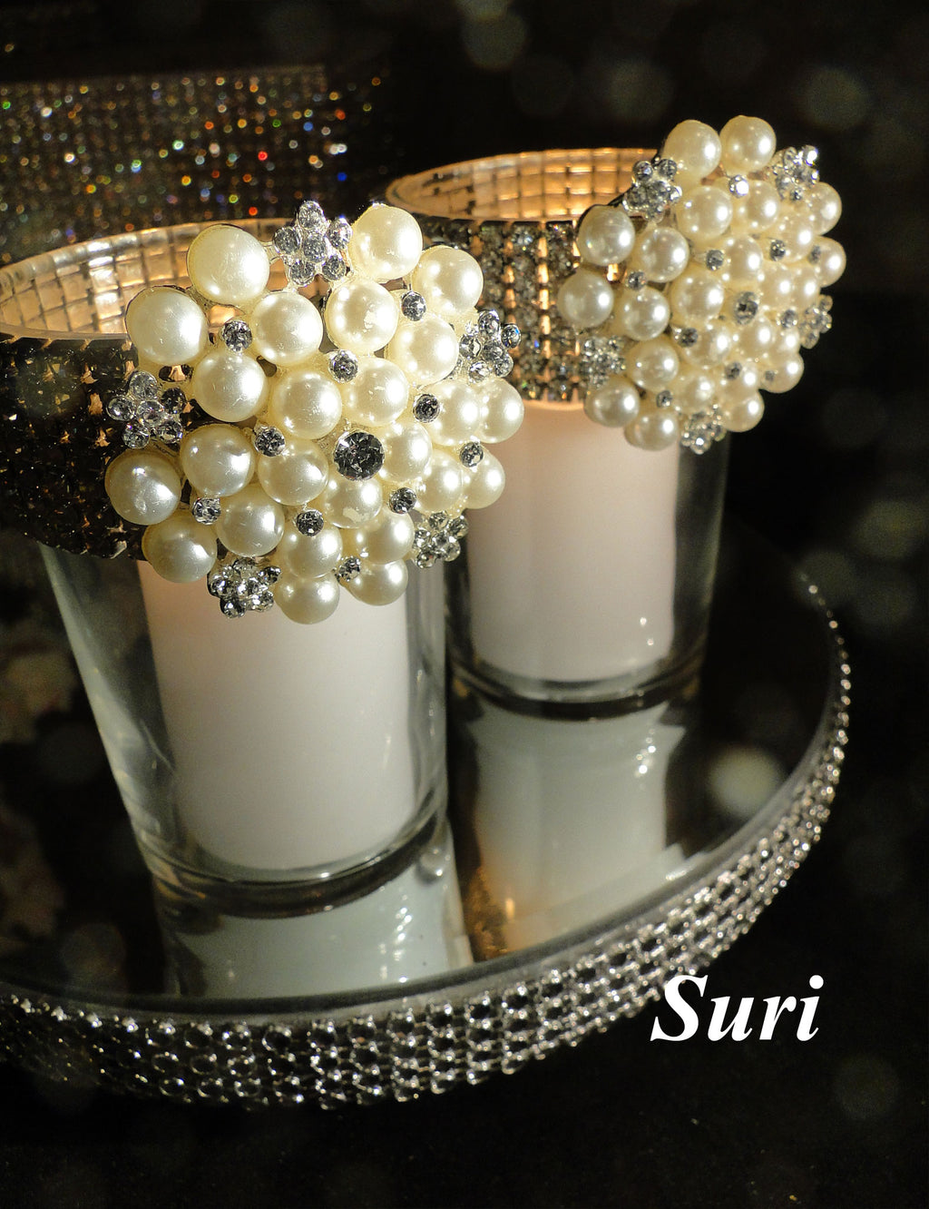 Pearl Votive Holder