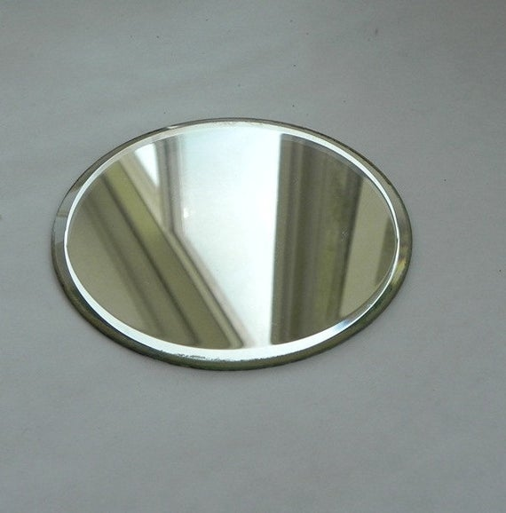 "MIRRORS 4"" Beveled ROUND (Sold Individually)"