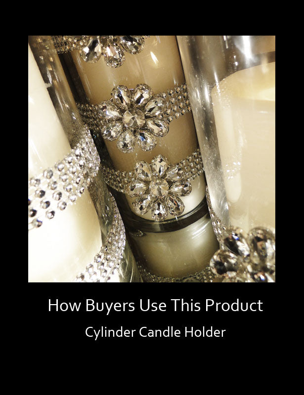 How Buyers Use This Product – Pillar Candles 1