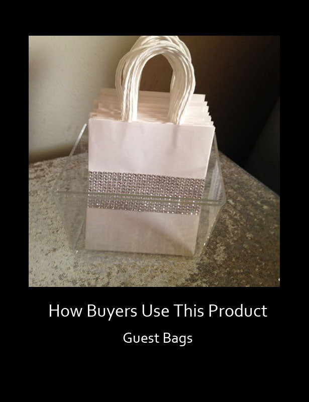 How Buyers Use This Product – Guest Bags