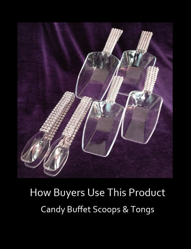 How Buyers Use This Product - Candy Buffet Scoops 2