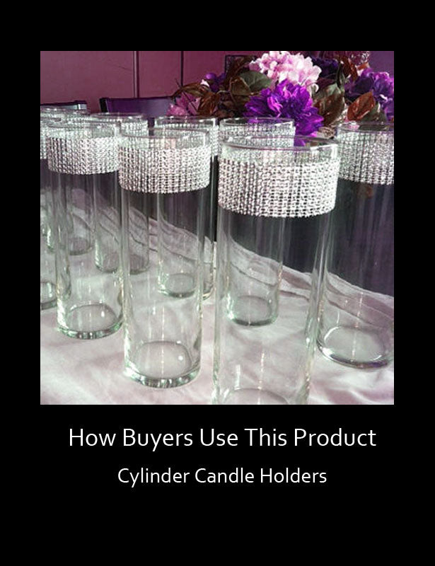 How Buyers Use This Product – Cylinder Candle Holders 1