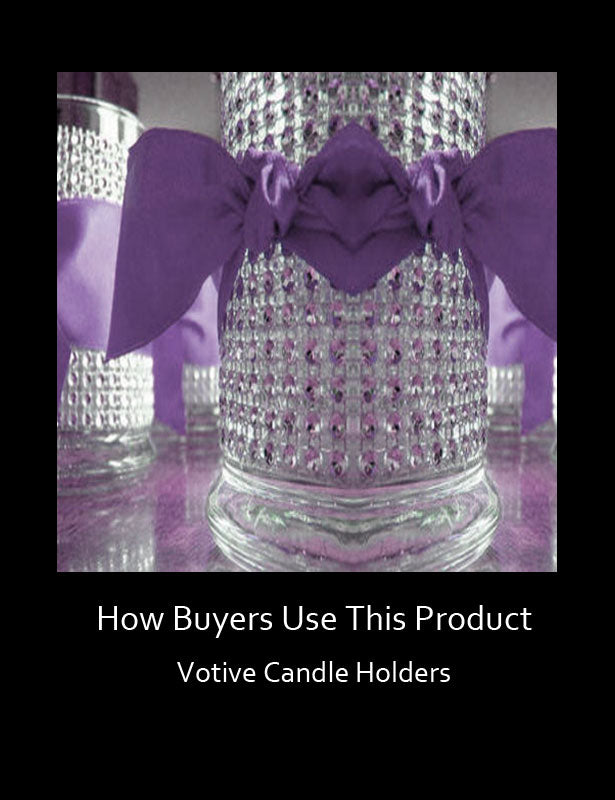 How Buyers Use This Product – Glass Candle Holders 1