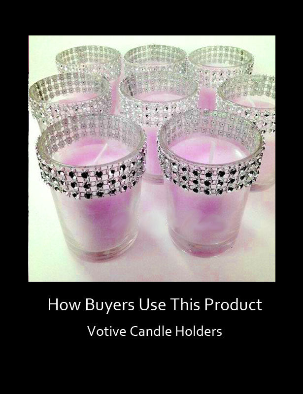 How Buyers Use This Product – Votive Candle Holders