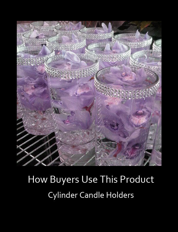 How Buyers Use This Product E – Cylinder Candle Holders 2
