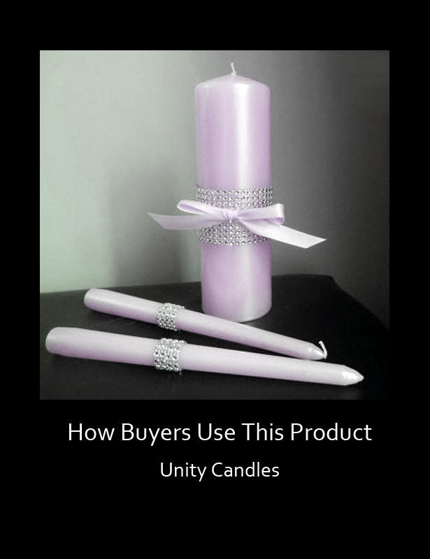 How Buyers Use This Product – Unity Candles