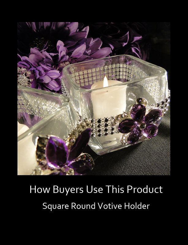 How Buyers Use This Product – Glass Candle Holders 2