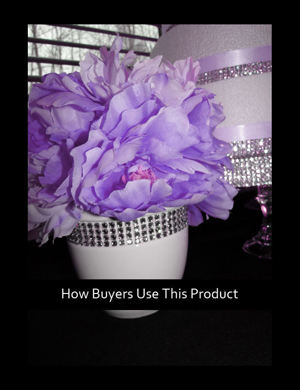 HOW TO USE – Short Wedding Centerpiece