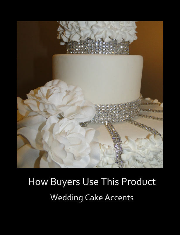 HOW TO USE – Wedding Cake Decoration