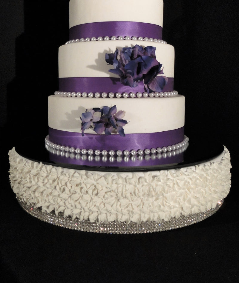"CAKE STAGE Faux Wedding Cake GRACE 18"" dia SOLD OUT"