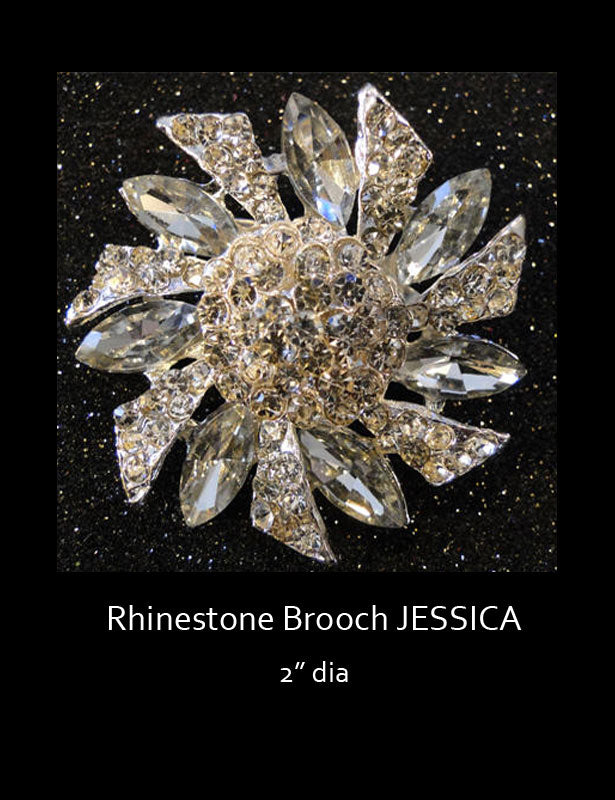 Brooch accent option 4 Jessica