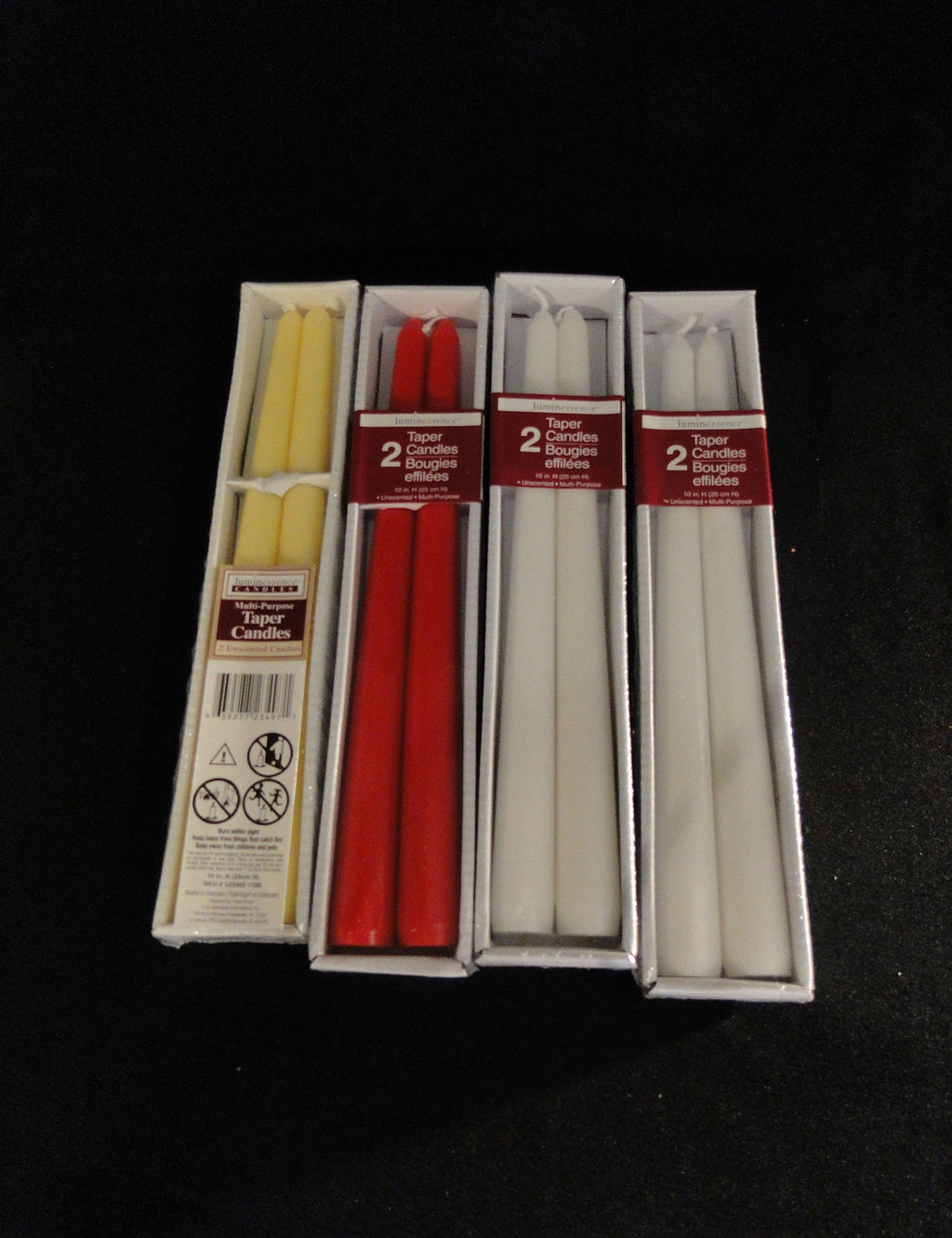 Candles Tapers Box of 2