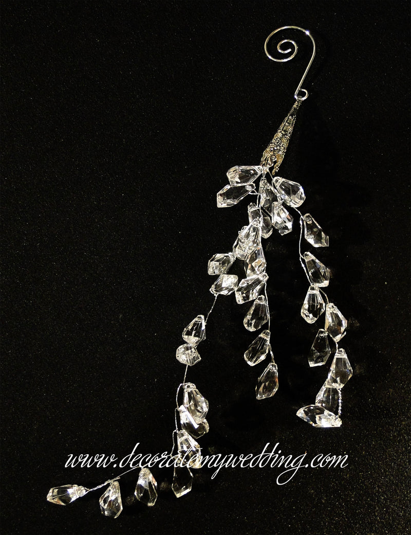 BEAD STRANDS Teardrop Cluster w/ Spiral Hook SOLD OUT