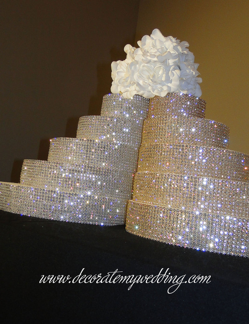 Wedding Cake Risers – what you will receive.