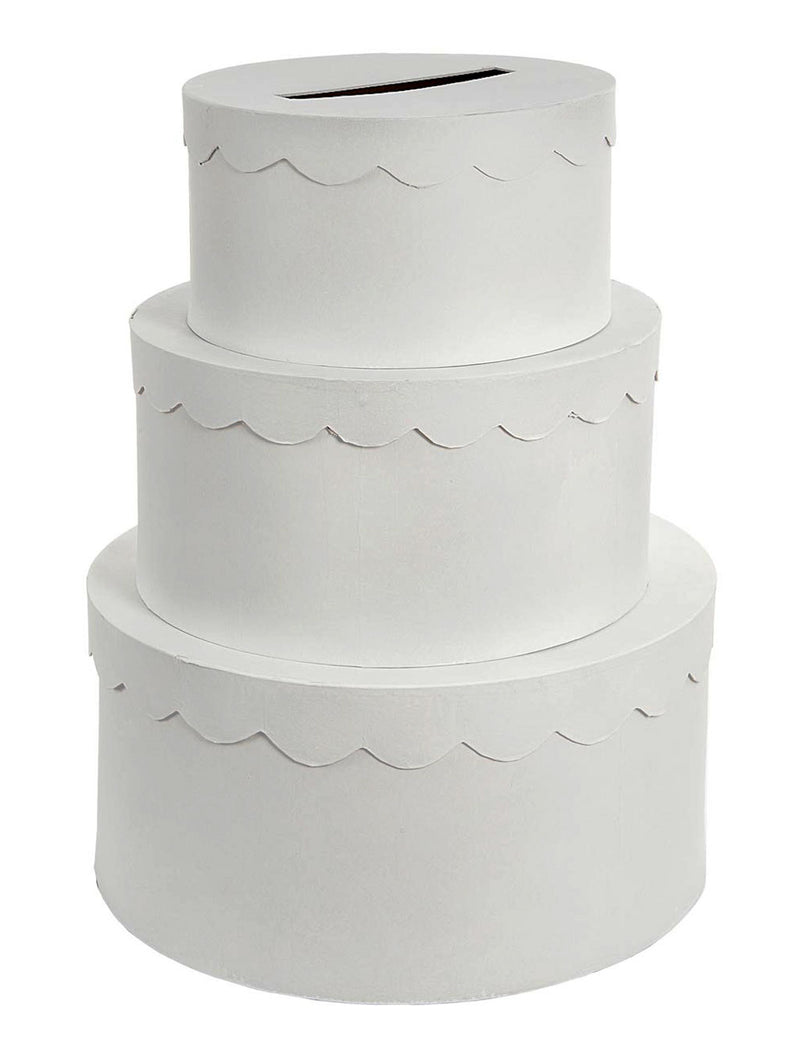 Card Box Tiered Wedding Cake (3 pieces)