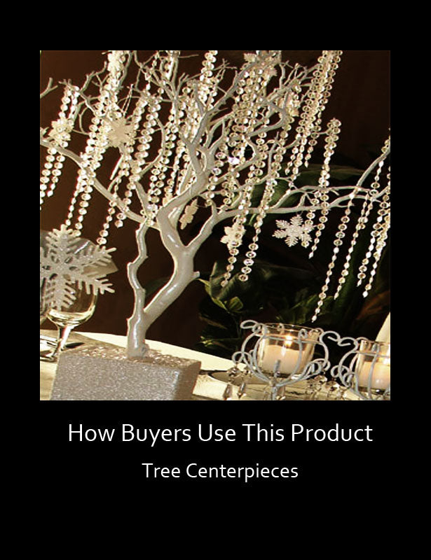 HOW TO USE – Tree Centerpieces 3