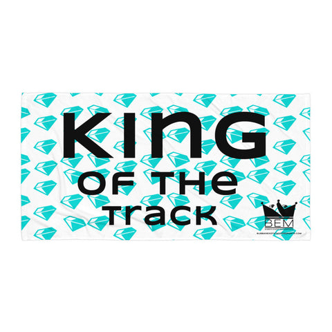 King of the Track Beach Blanket