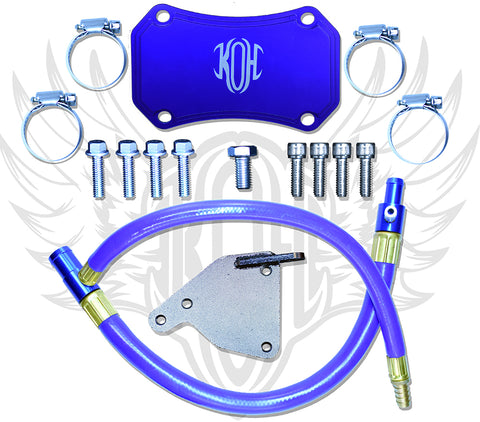 2011-2015 6.6L GMC LML (Early '15 Only) EGR Delete Kit
