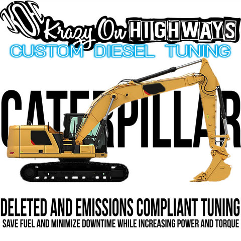 CATERPILLAR EQUIPMENT CALIBRATIONS