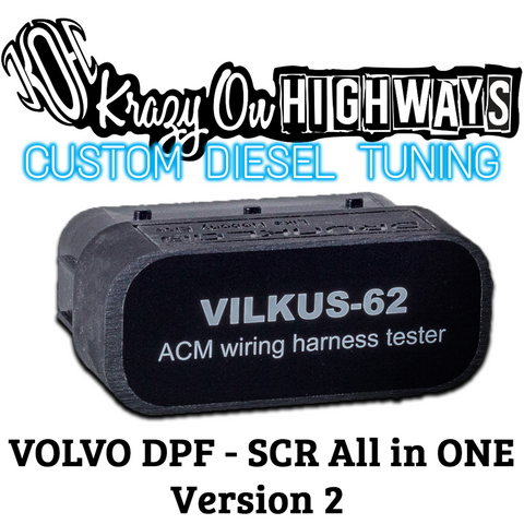 VILKUS-62. DPF/SCR SOLUTION. FOR VERSION2 TRUCKS/CE.