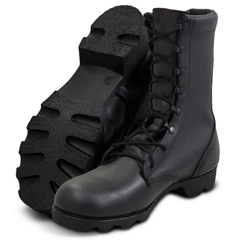 Leather Combat Boot 10