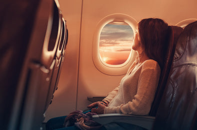CBD Helps Travelers With Fear of Flying: Natural Control for Aviophobia