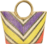 Multi Chevron | Banago Bag | JungleGurl