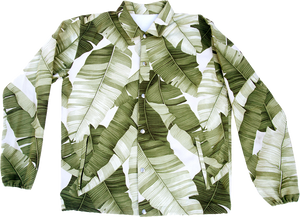Cream Banana Leaf | Elijah Jacket | Jungle
