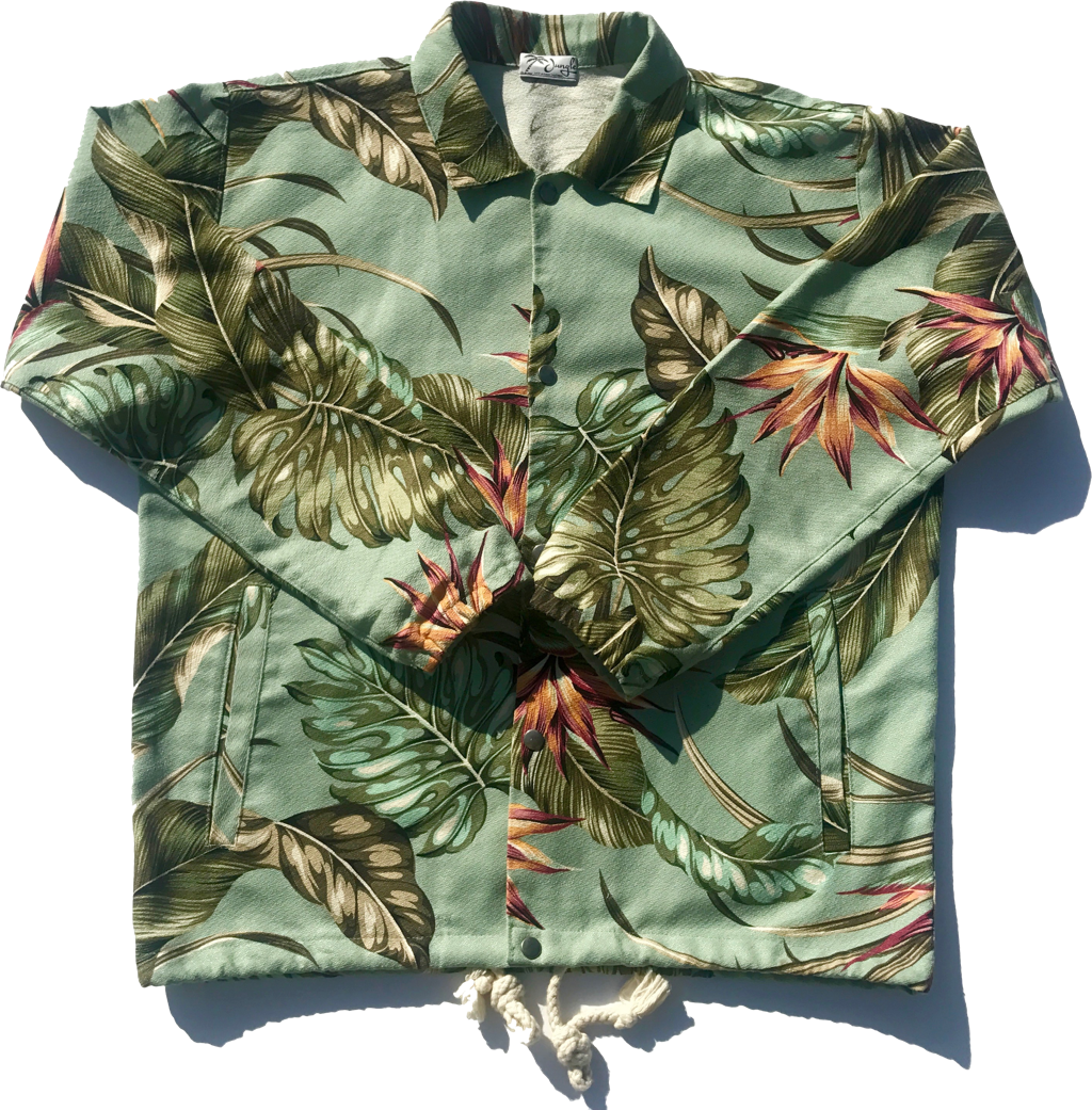 Mint Paradise | Elijah Jacket | Jungle